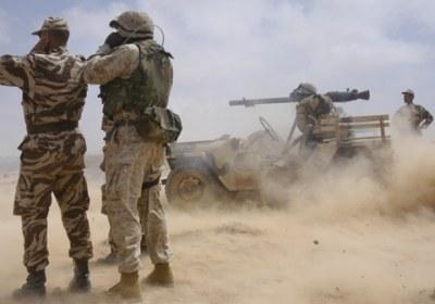 عاجل :  بعد إطلاق الجيش المغربي لأعيرة نارية بالصحراء البوليساريو ترد