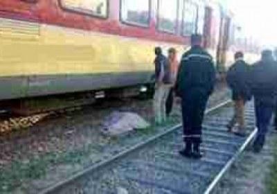 """وفاة شاب قفز من القطار هربا من """"الكونطرول"""""""