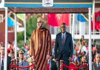 جلالة الملك يحل بدار السلام في زيارة رسمية لجمهورية تنزانيا