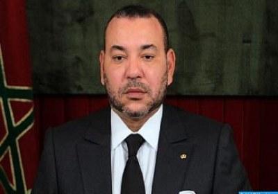 برقية تعزية من جلالة الملك إلى أمير دولة قطر على إثر وفاة سمو الأمير الأب، الشيخ خليفة بن حمد آل ثاني