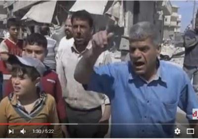 مؤثر جدا حلب تحترق