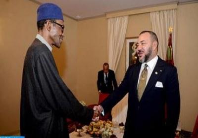 جلالة الملك والرئيس النيجيري يترأسان حفل اطلاق شراكة استراتيجية لتنمية صناعة الأسمدة بنيجيريا والتوقيع على العديد من اتفاقيات التعاون الثنائي