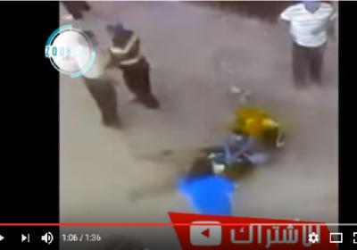 شــاهـد: فيديو لحظة وقوع جريمة القتل صباح اليوم Jarima Maroc !!