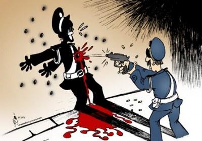 شرطي خمسيني ينتحر شنقا بمكتبه بالسراغنة
