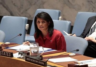 نيكي هايلي: ملاحقة الأسد ستبقى من أولوياتنا