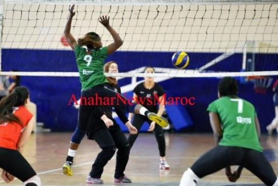 كرة الطائرة (سيدات):الاتحاد الرياضي يفوز على الدفاع الحسني الجديدي